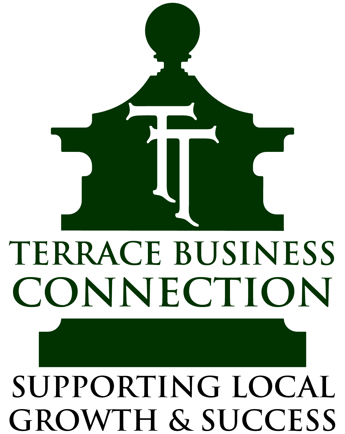 Terrace Business Connection logo in green