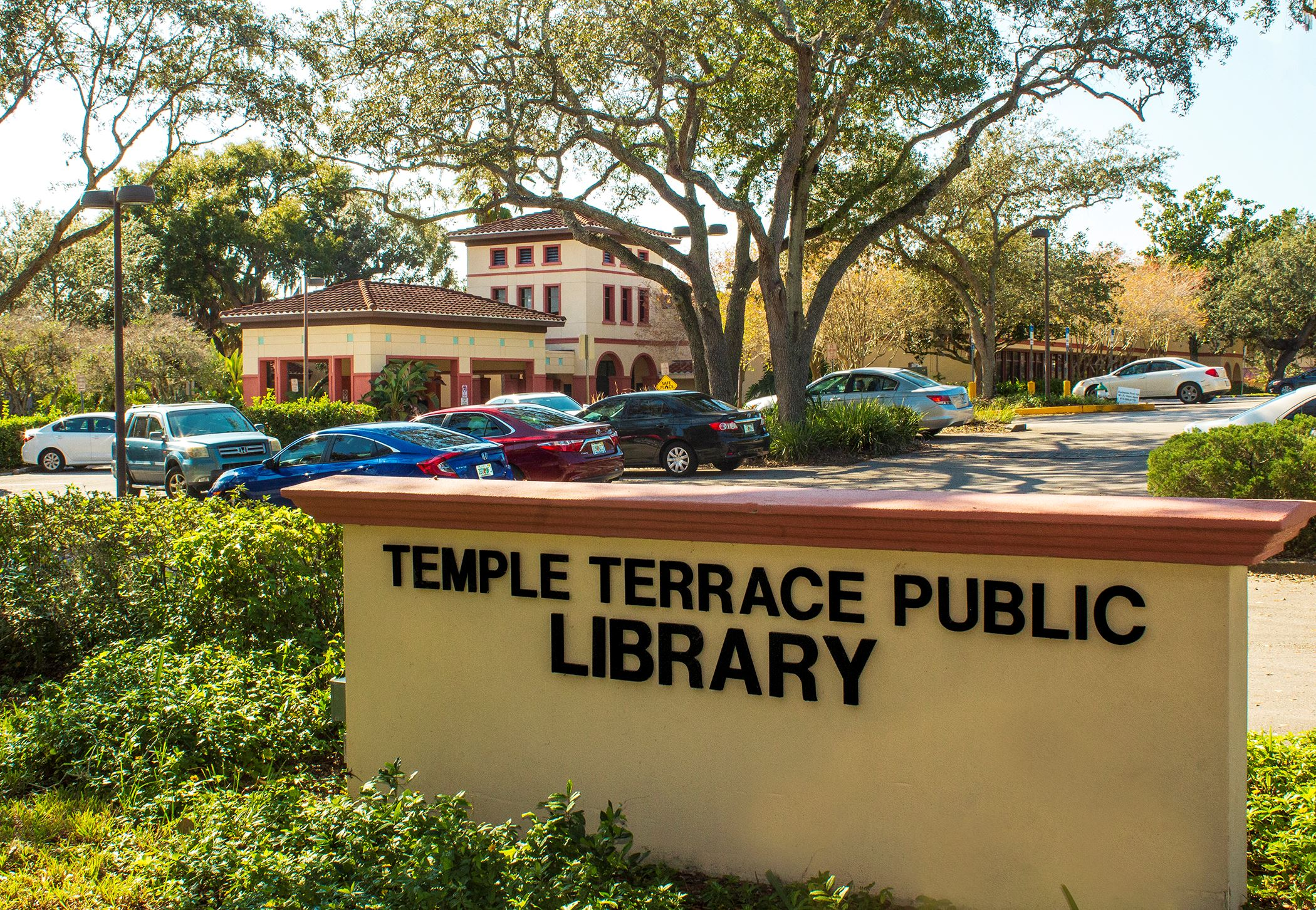 Temple Terrace Public library